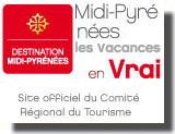 Site officiel du comité Régional du Tourisme Midi-Pyrénées